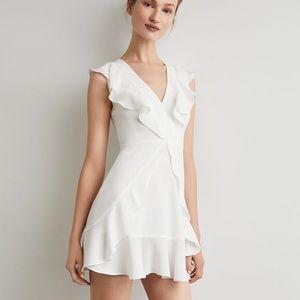 BCBG Tyrah Sleeveless Ruffle Dress - Size 2